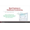 Best Practices in Healthcare Fundraising