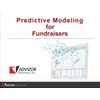 Predictive Modeling for Fundraisers